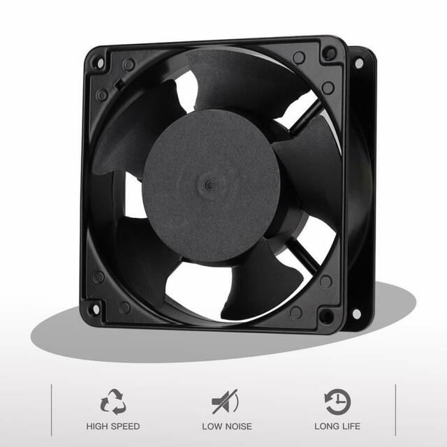 120mm Fan,Zhanye Muffin 1238 AC 120V Computer Axial Cooling, High Speed Exhaust