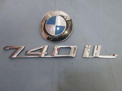For 1993-2001 BMW 740iL Emblem Genuine 76398BH 1998 2000 1996 1997 1995 1994