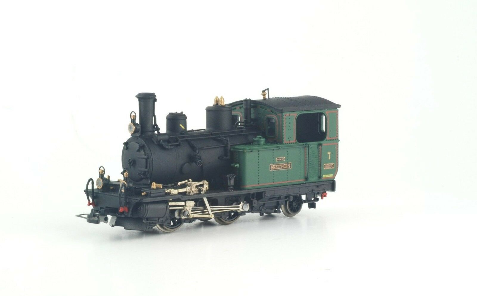 Bemo 1292527 FO HG 2 3 7 breitho Cogwheel Steam Locomotive Museum Ep2-6 H0m limit NEW + OVP
