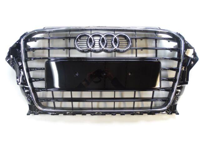 Original Audi A3 8V Grille Calandre Noir Brillant S-LINE 8V3853651 T94