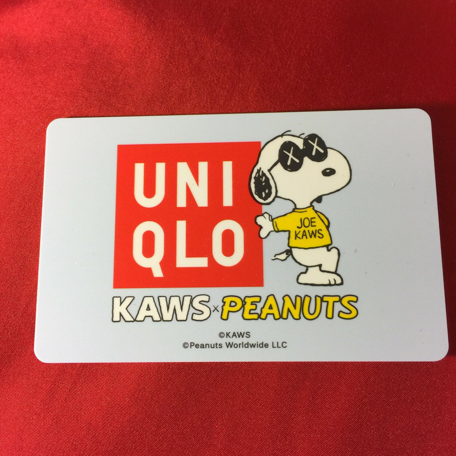 NWT  HOT SALE 2 PC 2017 KAWS X PEANUTS PEANUTS PEANUTS SNOOPY PLUSH SMALL LARGE +UNIQLO CARD SET b43e33