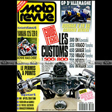 MOTO REVUE N°3045 YAMAHA TZR 125 R XV 535 750 VIRAGO SUZUKI VS 800 INTRUDER 1992