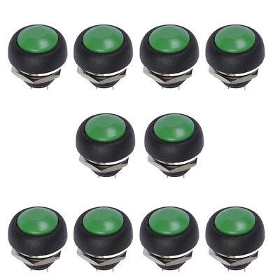 5x 12mm Mini Momentary Klingelknopf Drucktaster Taster Druckschalter