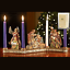 Advent-Wreath-Traditional-Colors-Carved-Wood-Look thumbnail 1