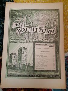 Der Wachtturm 1.April 1947 Bibelforscher Zeugen Jehovas - Lindau, Deutschland - Der Wachtturm 1.April 1947 Bibelforscher Zeugen Jehovas - Lindau, Deutschland