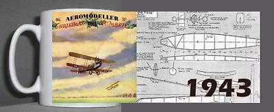 Aeromodeller Tazza Vintage Design 1943-mostra Il Titolo Originale