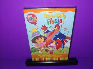 Dora-the-Explorer-Super-Silly-Fiesta-DVD-2004-Brand-New-B467