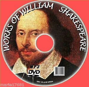 MASSIVE-COLLECTION-OF-220-PLAYS-POEMS-WILLIAM-SHAKESPEARE-MP3-AUDIOBOOKS-PC-DVD