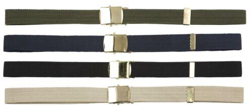 """Unisex 1/"""" in ottone Cintura Cinghia Fibbia in metallo"""