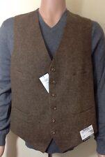 BNWT Para Hombre lana Ralph Lauren Chaleco Talla Xl RRP £ 240.00