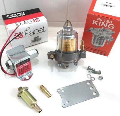 150BHP Facet Solid State Electronic 12 V Pompe À Carburant Kit