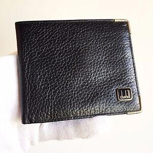 Site Officiel Portafogli Dunhill Porta Carte Documenti Card Case Wallet Portafoglio Black Gold Utilisation Durable