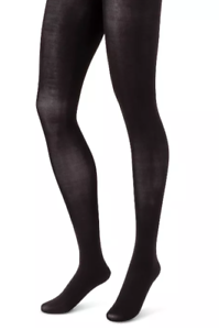 Details about  /Hanes Premium 2pk Womens L Black Opaque Shaping Panty Tights Hoisery 025060717
