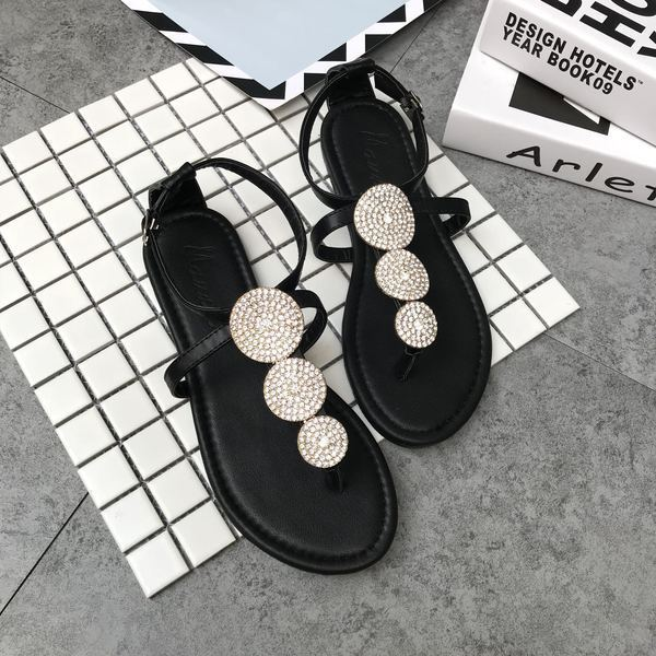 Sandalias elegantes bajo zapatillas negro swarovski brillante cómodo como piel