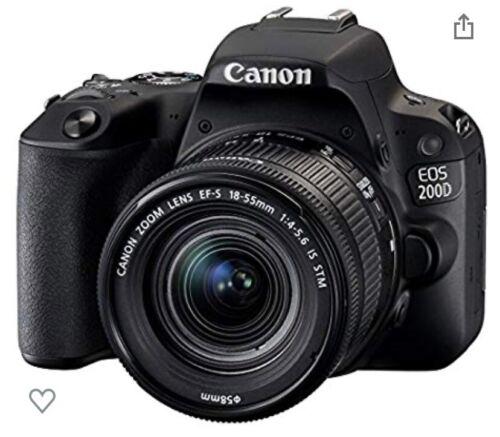 Canon EOS 200D 24.2 Mp Cámara Digital Réflex Kit con EF-S 18-55mm F/3.5-5.6    eBay