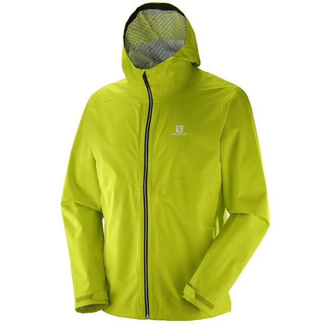 Salomon La Cote Flex 2.5 Layer Men's Jacket Rain Windbreaker Casual | eBay
