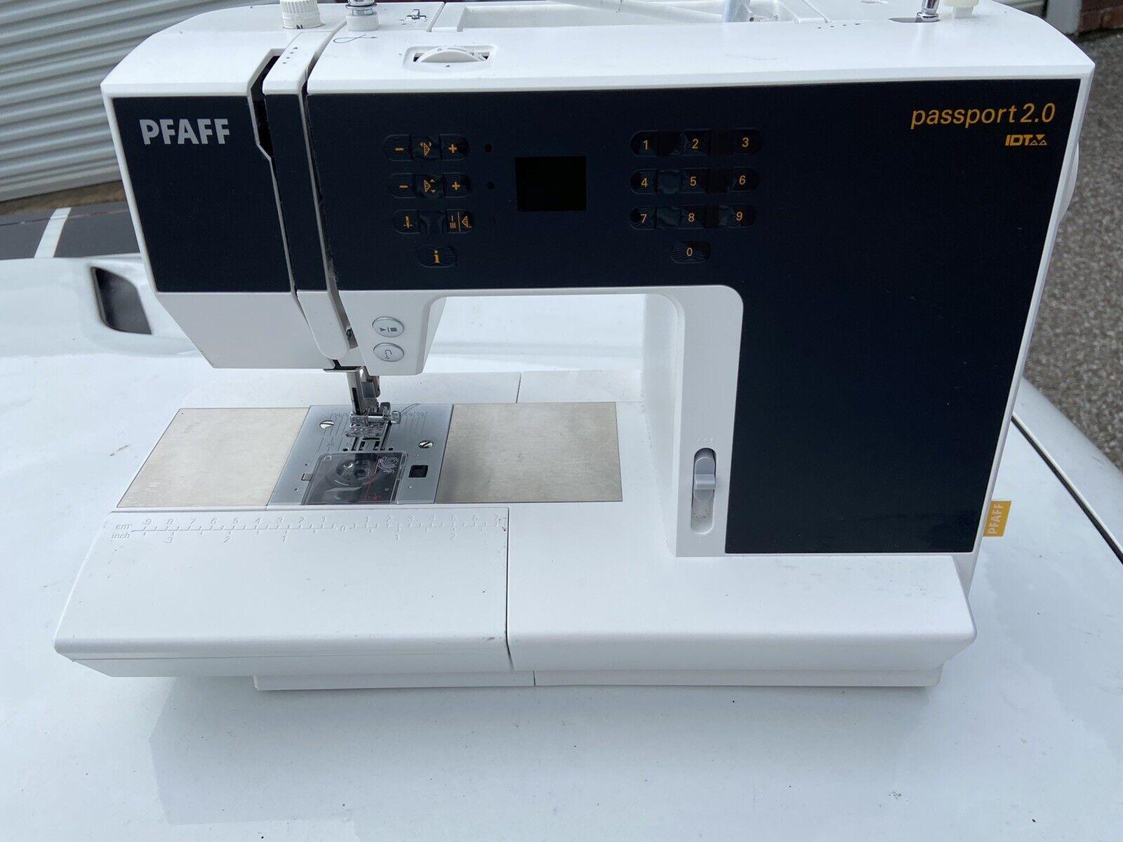 s l1600 - pfaff sewing machine
