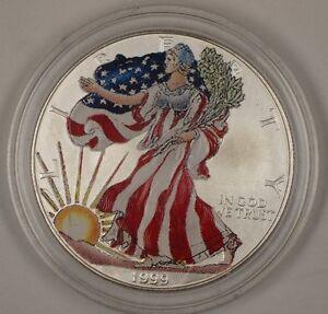 1999 American Silver Eagle Ase Brilliant Uncirculated