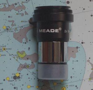 NEW-Meade-2x-telescope-eyepiece-barlow-lens