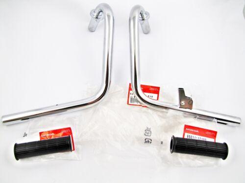 Guidon moitiés Convient pour HONDA DAX ST 50 Poignée glisse NEUF st70 6 volts GUIDON 2