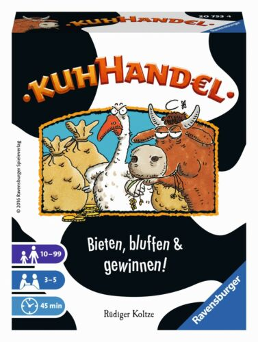 KUHHANDEL RAVENSBURGER 20753 KARTENSPIEL NEU//OVP
