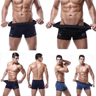 Trunks Sexy Underwear Men's Boxer Briefs Shorts Bulge Pouch soft Underpants GMS#
