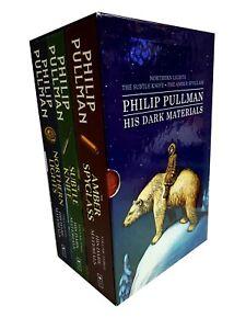 Philip-Pullman-His-Dark-Materials-Series-3-Books-Collection-Set-PaperBack-New