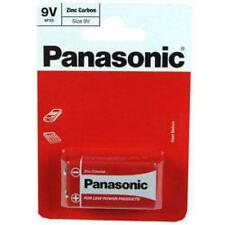 Panasonic 9V PP3 dimensioni standard non recharageble BATTERIA