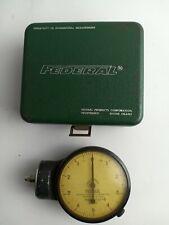 Federal D21 B 0001 Dial Indicator Gauge Machinist Tool