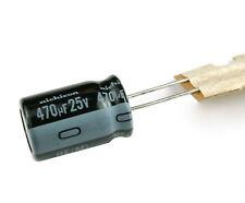 12PCS 470uF 16V 105C 8mm*12mm Radial Electrolytic Capacitors
