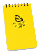 Rite In The Rain 135 Yellow Pocket Top Spiral Notebook 3 X 5 In Pack Of 12