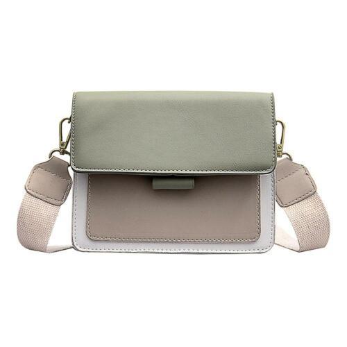 Small PU Leather Handbag Women Shoulder Bag Bucket Chain Packs Crossbody Satchel