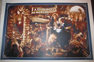 Labyrinth-Limited-Edition-Screen-Print-Poster-Kevin-Wilson-nt-Mondo-David-Bowie