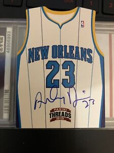 Anthony-Davis-Panini-Threads-2012-13-RC-Die-Cut-On-Card-Auto-Lakers-Rookie