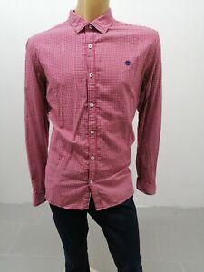 CAMICIA-TIMBERLAND-UOMO-Taglia-Size-XXL-SIM-FIT-Shirt-Man-Cotone-Chemise-4163