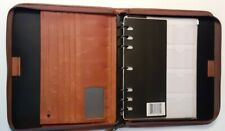 Monarchfolio Size Brown Leather 15 Rings Plannerbinder Franklin Day Timer