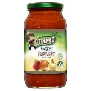 Dolmio Australian Made Delicious Tasty Extra Tomato, Onion & Roast Garlic Pas...