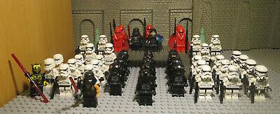 J6 // 1 LEGO STAR WARS FIGUREN COMMANDER STORM TROOPER DARTH VADER REX kg