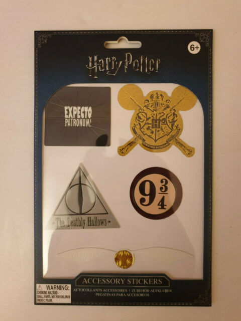 Harry Potter Sticker Accessory Gift Leather Look