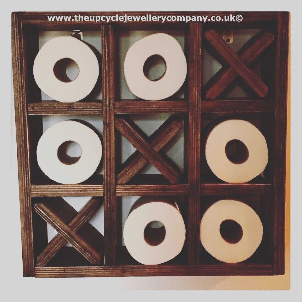 Noughts And And And Crosses Toilet Roll Holder 8e7f85