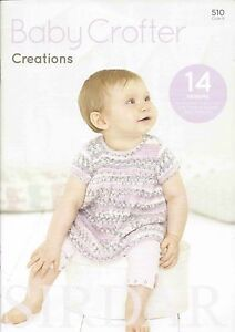 Sirdar-Baby-Crofter-Creations-Book-510-14-designs-0-7-years-using-Baby-Crofter