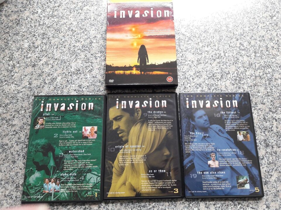 Invasion, DVD, TV-serier