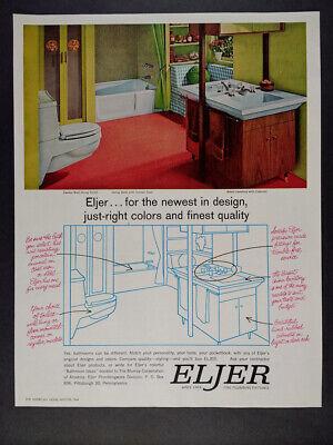 1957 Eljer Plumbing Fixtures mid-century bathroom photo