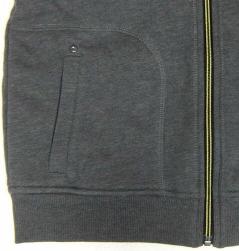 BC Vêtements Garçons Veste à capuche doublée en polaire zippée à capuche gris