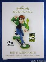 2009 Hallmark Keepsake Christmas Ornament Ben 10 Alien Force Cartoon Network