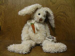 """Lorraine Chien Ganz Cottage #CC1116 BESSIE New/Tag From Retail Store 16"""" Rabbit"""