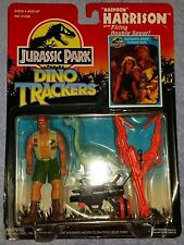 Jurassic Park Series 2 Dino Trackers Harpoon Harrison Kenner Nip w Brachiosaurus