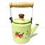 thumbnail 6 - Green-enamelware-pot-camping-coffee-Tea-Kettle-Vintage-enamel-cookware