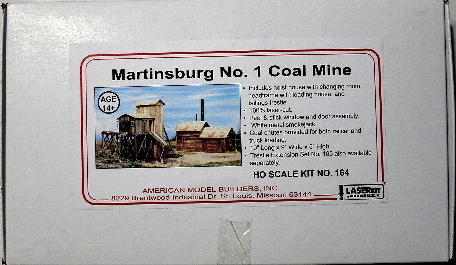 American Model Builders HO HOn3 Martinsburg Coal Mine (164)