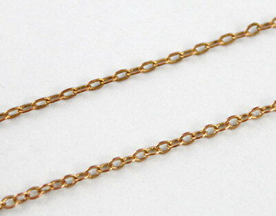 8 Meters Small link copper cable chain 2x1.5mm #20570
